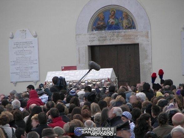 Traslazione Delle Spoglie Di San Pio Da Pietrelcina