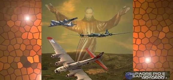"""Il """"fantasma"""" di padre Pio impedisce ai piloti americani di bombardare S. Giovanni Rotondo"""