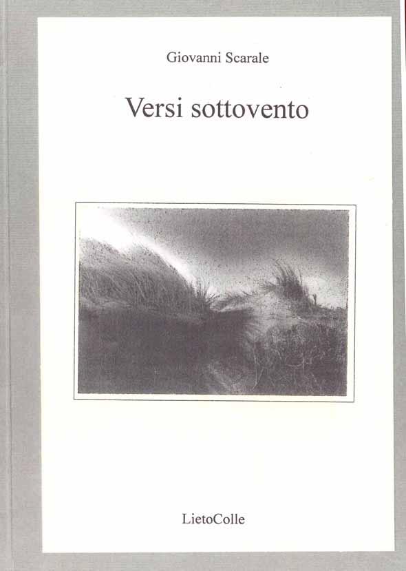VERSI SOTTOVENTO - Chiosa per Giovanni Scarale