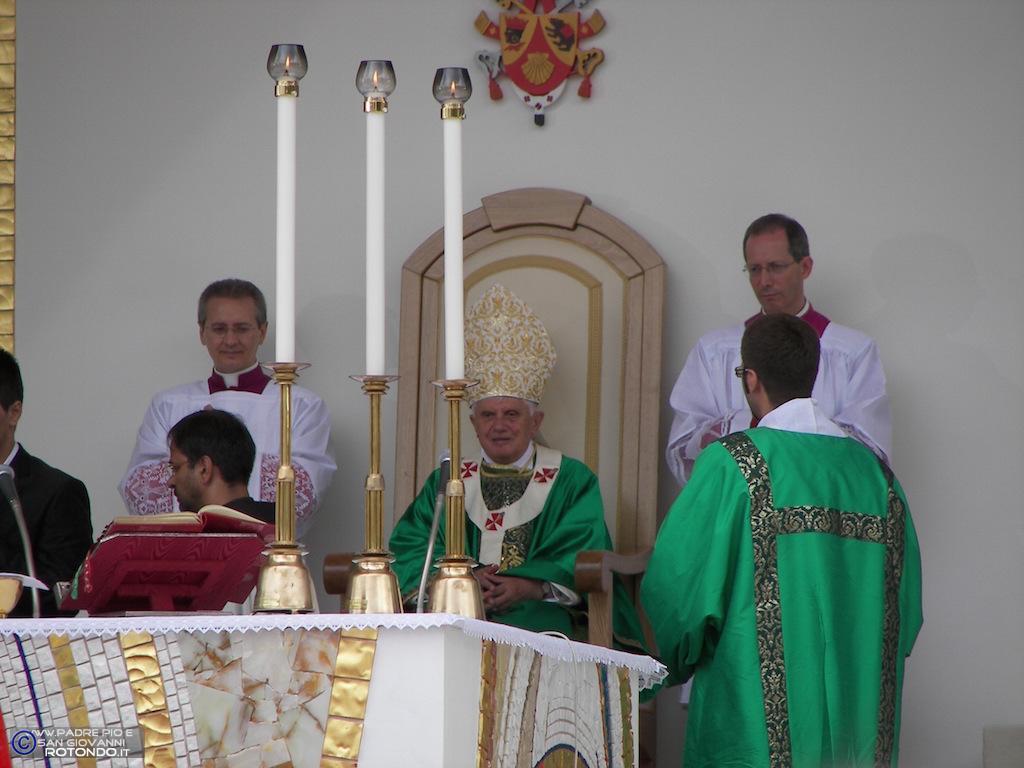 Benedetto XVI - Santa Messa