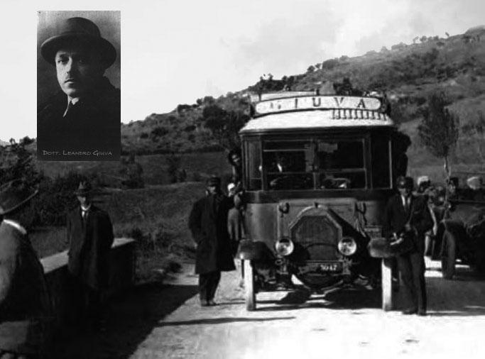 Il servizio automobilistico nel 1913